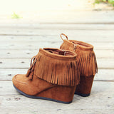 Wild & Wander Moccasins in Brown: Alternate View #3