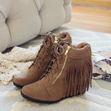 Fringe Walker Booties: Alternate View #1
