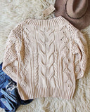 Frost & Ash Sweater in Cream: Alternate View #3