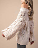 Frost & Ash Sweater in Cream: Alternate View #6