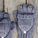 Frost & Knit Gloves: Alternate View #2