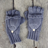 Frost & Knit Gloves: Alternate View #1