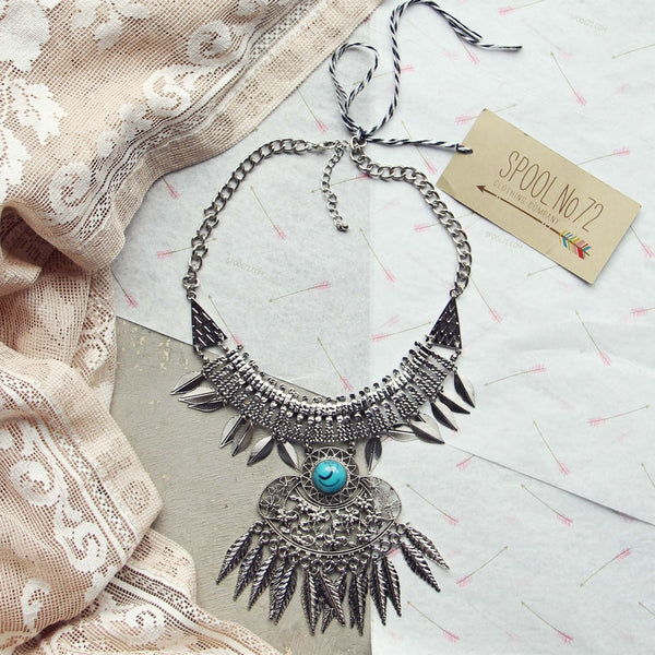 Frosted Feather Necklace: Featured Product Image
