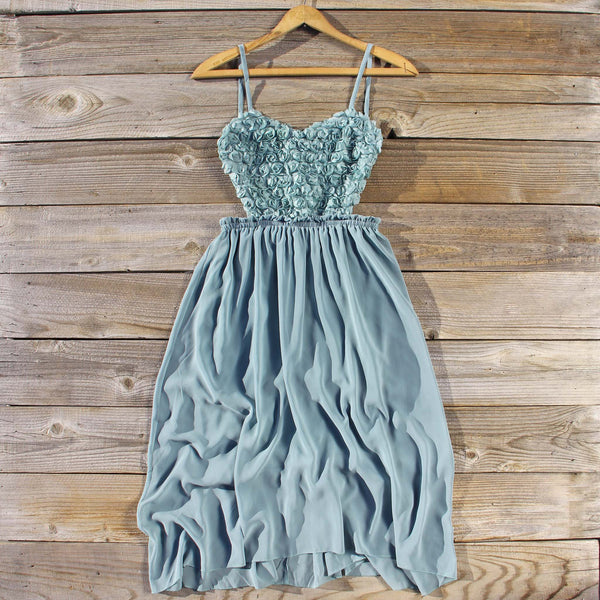 Frosty Sage Party Dress: Featured Product Image