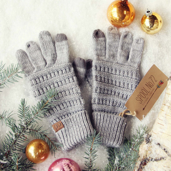 Frosty December Gloves: Featured Product Image