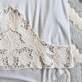 The Frosty Lace Tee: Alternate View #3