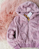 Frosted Mauve Coat: Alternate View #2