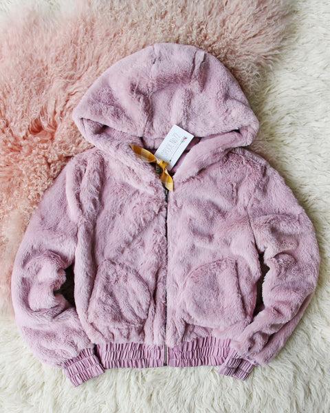 Frosted Mauve Coat: Featured Product Image