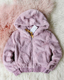 Frosted Mauve Coat: Alternate View #5