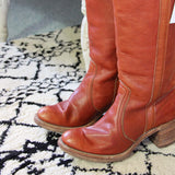 Vintage Frye Campus Boots: Alternate View #2