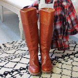 Vintage Frye Campus Boots: Alternate View #3