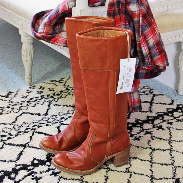 Vintage Frye Campus Boots: Featured Product Image
