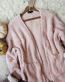 Fuzzy Wuzzy Cardigan in Pink: Alternate View #2