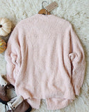 Fuzzy Wuzzy Cardigan in Pink: Alternate View #4