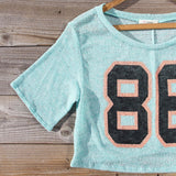 70's Jersey Tee in Mint: Alternate View #3