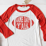 Game Day Y'all Tee: Alternate View #2