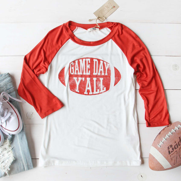 Game Day Y'all Tee: Featured Product Image