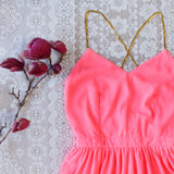 Ancient Rose Romper in Pink: Alternate View #2