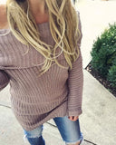 Gemma Knit Sweater in Navy: Alternate View #2