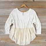 Gentry Lace Tunic in Sand: Alternate View #4