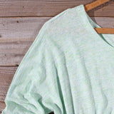 Gentry Lace Tunic in Mint: Alternate View #2