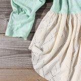 Gentry Lace Tunic in Mint: Alternate View #3