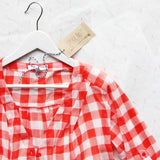 Gingham & Aspen Top: Alternate View #2
