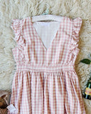 Gingham Sweet Dress: Alternate View #2
