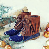 Glacier Frost Duck Boots: Alternate View #1