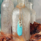 Glacier Stone Necklace: Alternate View #1