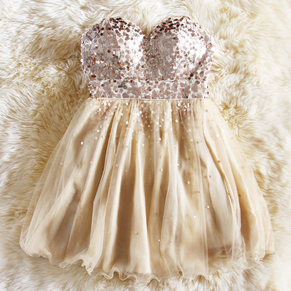 Spool Couture Glitter Girl Party Dress: Featured Product Image