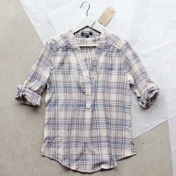 Go North Plaid Top: Featured Product Image