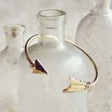 Golden Arrow Bracelet: Alternate View #1