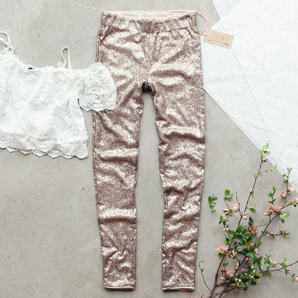 Golden Girl Party Pants: Featured Product Image