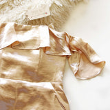 Golden Girl Romper: Alternate View #2
