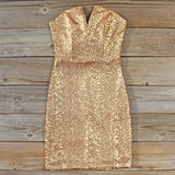 Golden Hearts Party Dress: Alternate View #1