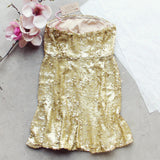 Golden Mermaid Party Dress: Alternate View #4