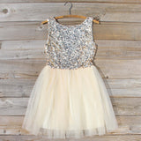 Golden Sugar Party Dress: Alternate View #1