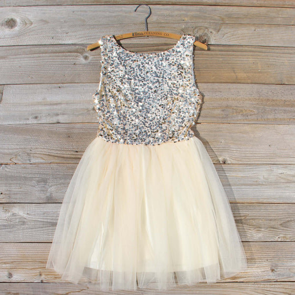 Golden Sugar Party Dress: Featured Product Image