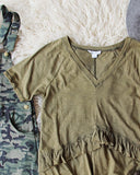Gotta Have Mineral Tee in Army: Alternate View #2