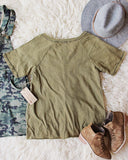 Gotta Have Mineral Tee in Army: Alternate View #3