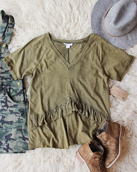 Gotta Have Mineral Tee in Army: Featured Product Image