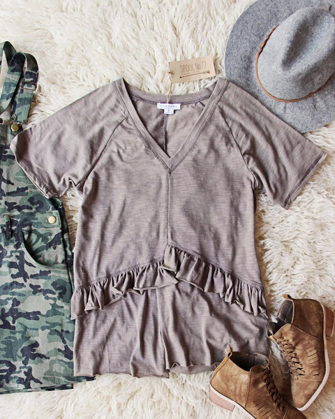 Gotta Have Mineral Tee in Taupe: Featured Product Image