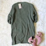 Grandpa Cozy Sweater in Olive: Alternate View #5