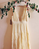 Grecian Lace Dress in Cream: Alternate View #4