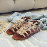 Groove Fringe Sandals: Alternate View #2