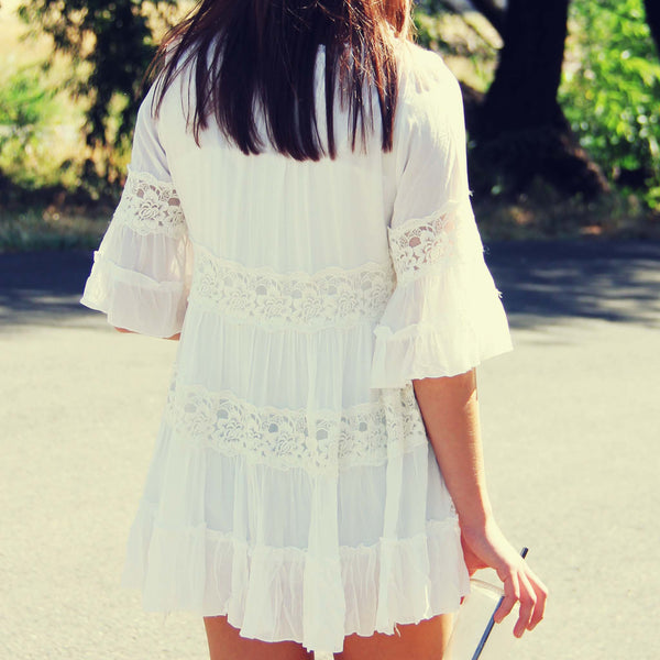 The Gunner Lace Tunic: Featured Product Image