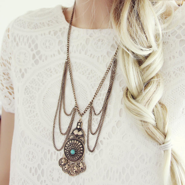 Gypsy Coin Necklace: Featured Product Image