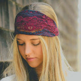 Gypsy Lace Headwrap: Alternate View #3