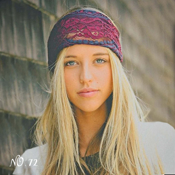 Gypsy Lace Headwrap: Featured Product Image